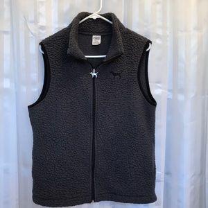 Victoria's Secret Woman's Size medium zip up vest